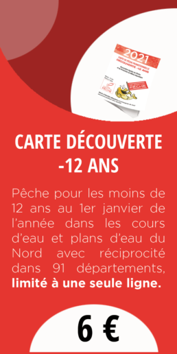 CARTE DECOUVERTE -12ANS