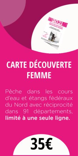 CARTE DECOUVERTE FEMME