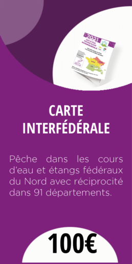 CARTE INTERFEDERALE