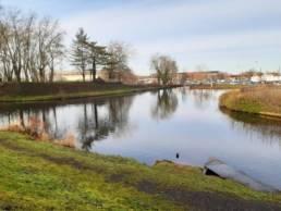 Etang de pêche du parc Emile Zola à Denain