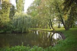 Parc Charles Fenain à Douai dans le Nord