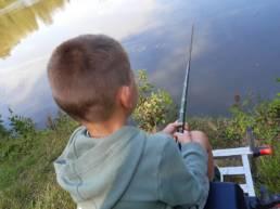 Photo enfant avec canne télescopique
