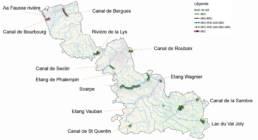 Cartographie des parcours et sites de pêche no-kill carnassiers dans le département du Nord